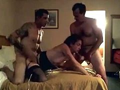Our first cuckold threesome experience