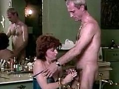 Horny and filthy bitches with nice bodies work on each other's clits meanwhile sexy and kinky brunette gets her dripping cunt licked and sucks the cock. Have a look in steamy The Classic Porn sex clip.