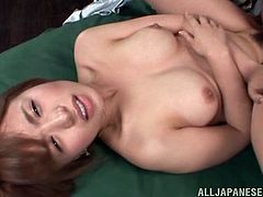 Juicy Arisa Misato gets fucked and facialed massively