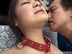 She is a Japanese sex slave to be fucked hard