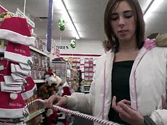 A fuckin' whore at the supermarket or something like that sticks a pen in her fuckin' gash and uses it to write on a fuckin' piece of paper.