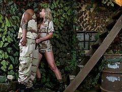 Have fun with this interracial clip where the hot safari guide Rihanna Samuel is fucked by a big black cock after sucking on it.