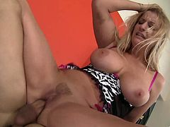 A fucking hot ass fuckin' whore sucks on a hard cock and takes it in her fuckin' ass gash! Check it out right here, you fuckin' bitch!