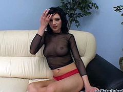 Micheal Stefano XXX brings you hell of a free porn video where you can see how the vicious brunette Ava Rose sucks her man's cock and ass while assuming very hot poses.