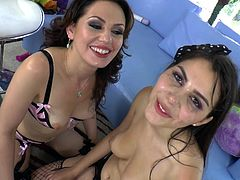 Sarah Shevon and Valentina Nappi are banging