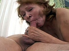 That ugly stud is pretty feverish. He hammered his thirsting old sex pot in mish, doggy, sideways and cowgirl positions. In addition that filthy bitch managed to suck his bonker in a proper manner. Look at this whorish old bitch in Fame Digital porn clip!