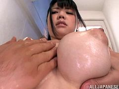 Astounding Aoi Nagase Gets Her Big Tits Touched By Two Kinky Guys