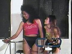 Here are two bitchy ones Ebony Eyes, who will be dominating over Tasha Voux, sitting on her face and making her eat her muff.