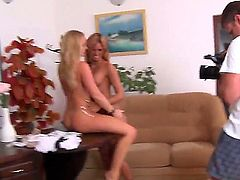 Ashley Bulgari and Silvia Saint have fun