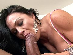 Nothing pleases the guy more than seeing his wife sucking and fucking like a true slut