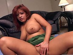 Hefty figured slutty mommy with big still tight ass bounces on massive staff cock in cowgirl and reverse cowgirl positions. Take a look at this lusty cougar in Fame Digital porn clip!