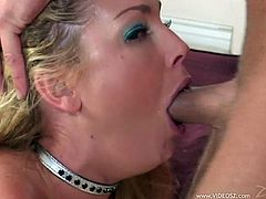Make sure you check out this amazing hardcore scene where the sexy blonde Flower Tucci is fucked up her tight asshole with a thick cock.