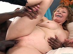 This salacious woman loves big black cocks just as much as she loves herself. If you are into interracial porn then this hot sex video is worth your attention!