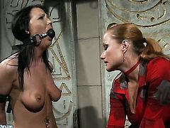Mature Katy Parker with giant jugs is another fucktoy of insatiable lesbian Chanel