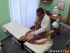 Nurse and doctor fucking patient