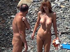 Nude girls on the beach caught on hidden cam are perfect for voyeur's dirty needs