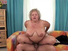Just because she is retired doesn't mean this granny doesn't want to fuck. She can even still get on top and bounce on that hard dick.