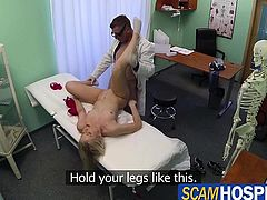 Hot blonde Cat gets fuck from behind
