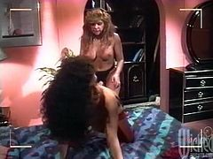 Make sure you have a great at this vintage video where these gorgeous ladies make you pop a boner as they please one another with sex toys.