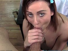 This dark haired whorish bim tasted hundreds of sugary dicks. But this long one turned out to be the sweetest ever. Look at this fancy deep throat in My XXX Pass porn clip!