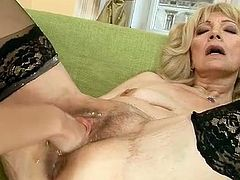 Sleaze fist shagging xxx activity nearly A mature and younger girl. Smut honey inserting hand in the aged pussy! Pussytoying included
