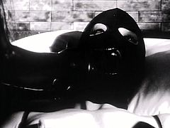 It's a time for exciting BDSM sex video produced by Lust Cinema porn site. Hussy lesbian babe tortures sexy girlfriend in latex mask.