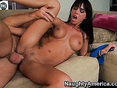 Gia DiMarco fucks like a first rate hoe in sex action with Charles Dera