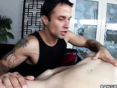 Sativa Rose with juicy butt shows her slutty side to hard dicked dude