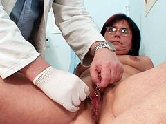 Pissy mature is soon to have her hairy twat stimulated like never before