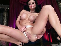 Aletta Ocean gets her love box fucked by horny man for your viewing entertainment