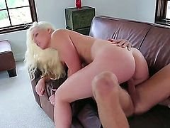 Once he saw her plump big ripe ass it was all over. She had to be fucked. Her pussy was ready to welcome his big cock  in her vagina to fuck.