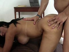 It's a true pleasure for voluptuous maid to obey and please her horny master's dirty desires