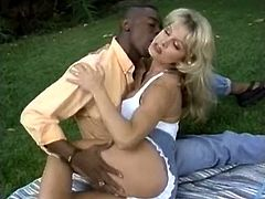 Watch this hot and extremely sexy white chick getting fucked really hard and nice by her black friend in The Classic Porn sex clips.