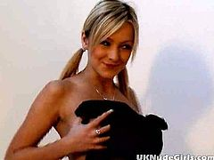 This is a hot solo scene with a sexy blond siren that loves showing off her sexy shapes. She is an amateur heart breaker!