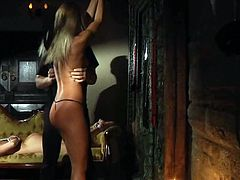 The king does have many sex slaves who look beautiful and have tight bodies. Watch them getting tied up, inflict them  pain and pleasure, the way these slaves will like it.