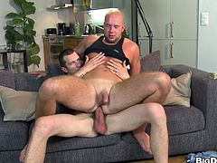 Check out this hot gay scene where these fellas fuck the living hell out of one another bareback as you hear them moan.