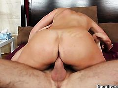 Magdalene St. Michaels gets her love tunnel pounded ferociously by Dane Crosss stiff meat stick
