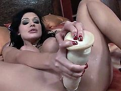 If you go backstage with Aletta Ocean and Brandy Smile, you are bound to end up shooting in your pants. Hardcore lesbian action as these two babes with big titties finger, lick, and fuck each other to orgasm.