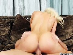 Anikka Albrite having sensual sex with hot guy Johnny Castle