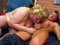 These beautiful large women have a hunger for cock and you can see them getting their large appetites satisfied! Watch this video of a plumper mom showing off her sucking skills. No one can beat their experience in satisfying a hungry cock.