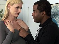 Blonde Darryl Hanah and black Tyler Knight
