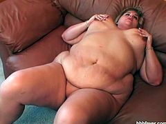 Christina is a huge BBW slut and she shows her big natural tits and huge ass. Watch as she uses her favorite glass dildo to penetrate herself and climax for you.