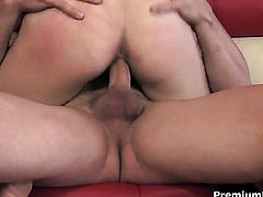 Katie Angel having vigorous sex with horny guy