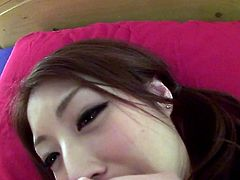 Wanna see a cheeky teen showing off in front of the camera while being filmed by her boyfriend? The couple gets rid of their clothes. The hot Japanese young girl enjoys having her pussy licked. In return, she slowly begins to suck dick. Click to watch!