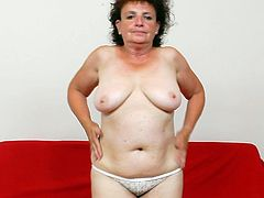 Fat with hairy twat to please, mature Marsa gets busy on cam in a sleazy masturbation solo