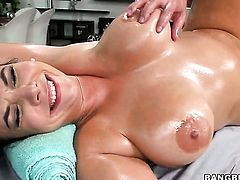 Missy Martinez cant wait to be take money shot on her lovely face