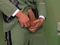 Hardcore gay bareabacking session. Watch military police personnel love sucking and fucking each other in this sex tube video.