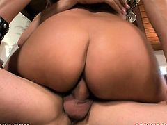 That long and light haired kinky bitch with awesome titties gave fancy deep throat to her white guy. A bit later she bounced on his cock in cowgirl and reverse styles passionately. Have a look at this kinky chick in My XXX Pass porn video!