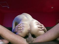 Sex appeal Japanese harlot gets her pussy rammed hard doggy style. He pokes her muff and her juicy butt jiggles. Be ready for steamy sex tube video produced by Jav HD porn site.