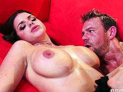 Check out this amazing hardcore scene where the busty Brooklyn Chase is fucked silly by this fella's large cock as you hear her moan.